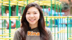 ホームリンガル | バイリンガル先生 Rina